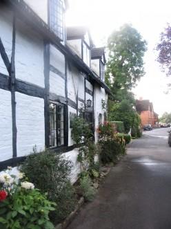 Tavern Lane, Shottery, 9th July '07.  Copyright Tricia Mason
