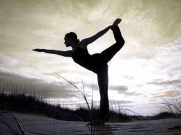 Yoga is a good form of exercise that is for both mind and body.