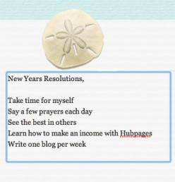 Will making a list of New Year Resolutions help you attain your dreams?