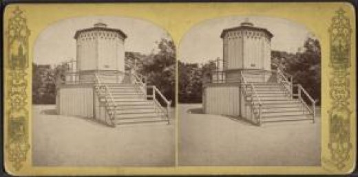 Camera Obscura, Central Park, New York City, 19th century