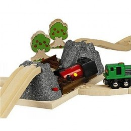 Brio Collapsing Bridge (please note trees and trains are not included)