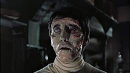 Christopher Lee as the Creature in The Curse of Frankenstein (1957)