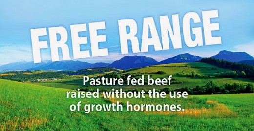 This is the label that consumers are looking for. Beef raised humanely, free-range, without the use of hormones