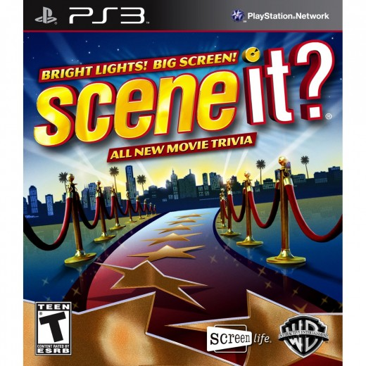 PlayStation Family Game - Scene It