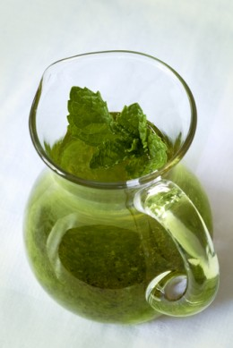 Home-made Mint Sauce: easy to make & so much nicer! Image:  Robyn Mackenzie|Shutterstock.com