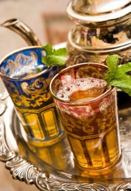 MOROCCAN MINT TEA Image:  alex saberi|Shutterstock.com