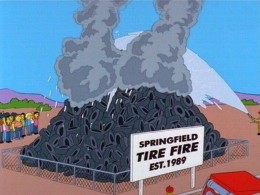 The Springfield Tire Fire
