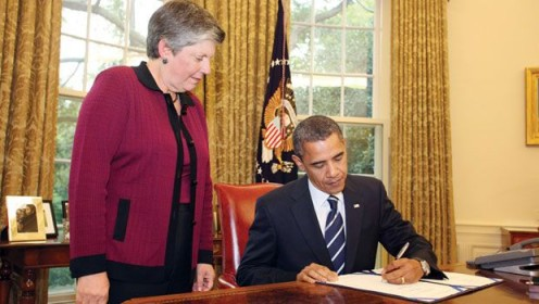 President Obama signs $600 million bill for border security.