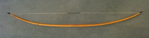 English longbows were more often than not made from yew wood.