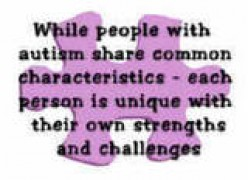 Symptoms of Autism Spectrum Disorders