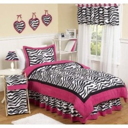Decorating with Zebra Print Bedding