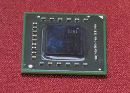 The AMD fusion chip is about the size of a nickle.