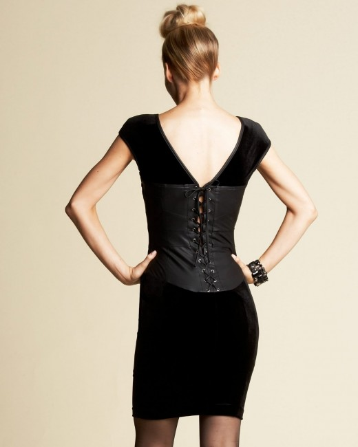 Dress in fashion - corset