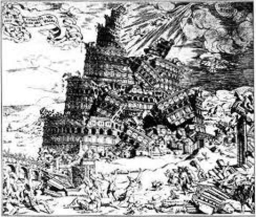Tower of Babel. Beware of Excessive Pride.