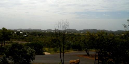 tennant Creek skyline from peko Road Mining Museum