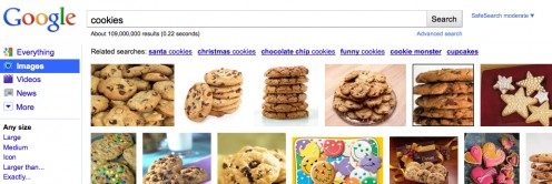 No, not THESE kind of Internet cookies.