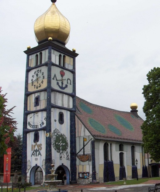 St. Barbaras Church in Brnbach, Austria