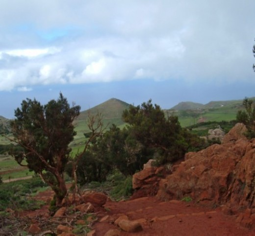 View over Teno Alto