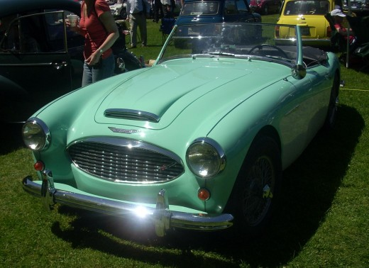 "Saving up for a '58 Austin-Healey 100 BN4 is FAR more fun than just having a ""car fund"""