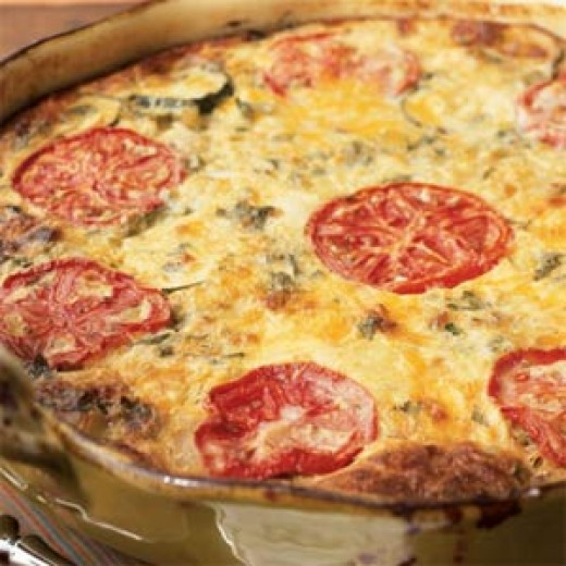 Garden Vegetable Crustless Quiche: Salmon Quiche, Recipes That Are More Exciting Than Quiche