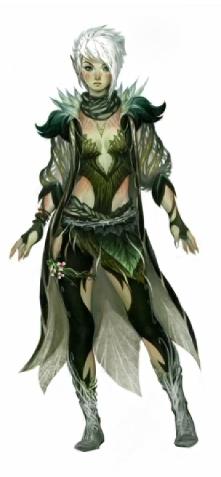 Caithe, the Sylvari Firstborn member of Destiny's Edge