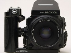 Bronica ETRSi Medium Format Film Camera