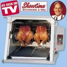 Your party is not a rotisserie oven!