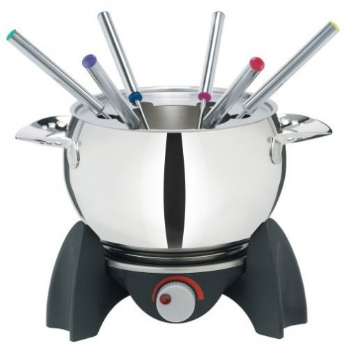 Trudeau 0823004 Electric 11-Piece 3-in-1 Fondue Set