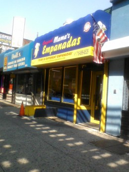 Storefront on Roosevelt Avenue
