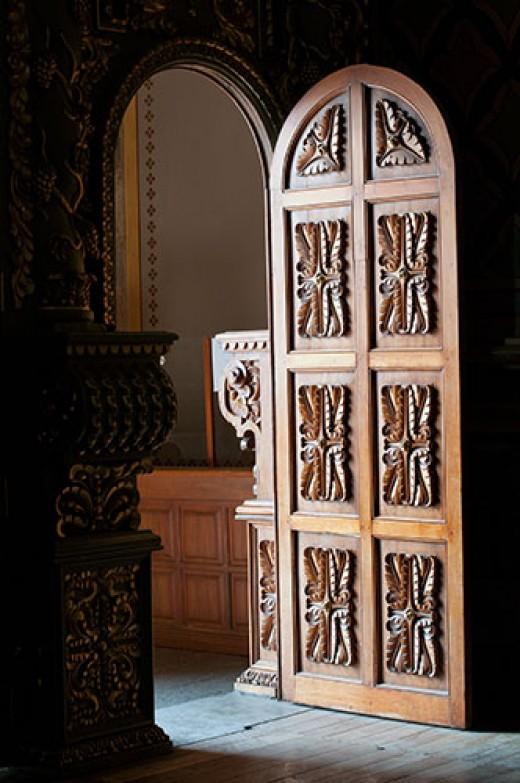 19th Century Church Door