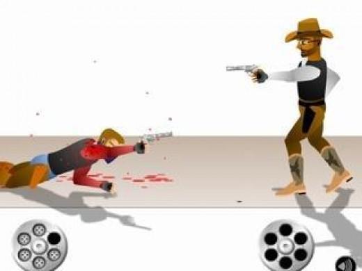 Play gun blood a free online shooting game at flasharcadegamessite com