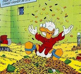 """Scrooge McDuck- """"The Original Rainmaker"""""""