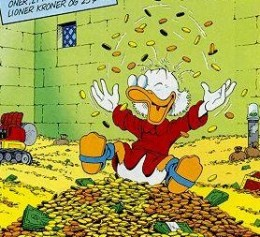 "Scrooge McDuck- ""The Original Rainmaker"""