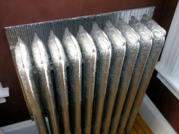 Radiators provide room-by-room heating