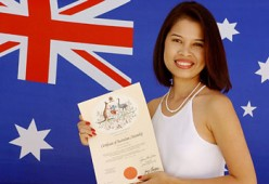 Citizenship: How you become an Australian Citizen.