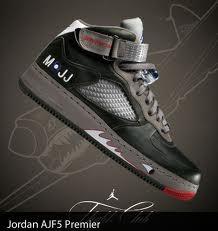 M. J signature shoe
