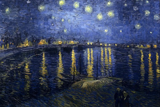 A Starry Night Over The Rhone by Vincent Van Gogh