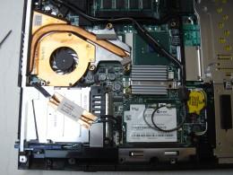 Heat sinks on CPU and GPU