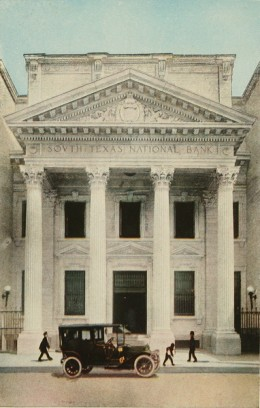 Texas Commercial National Banking house