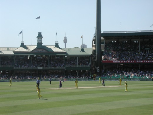 Sydney Cricket Ground venue of the final Ashes test starting 3.1.2011