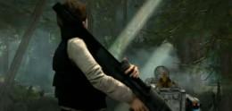 Han Solo and his friend Chewbecca