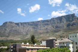 Gardens is always dominated by Table Mountain