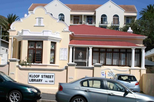 This lovely old house in Kloof Street is now a library