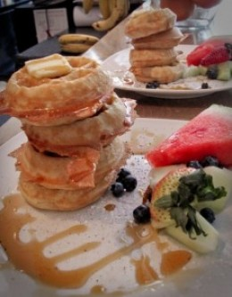 Waffle Brunch at Starving Artist