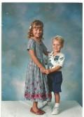 My Beatutiful Daughter and Son years ago