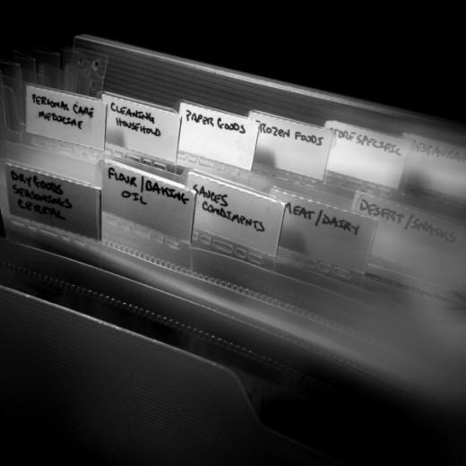 coupon organization file