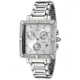 Diamond Stainless Steel Chronograph