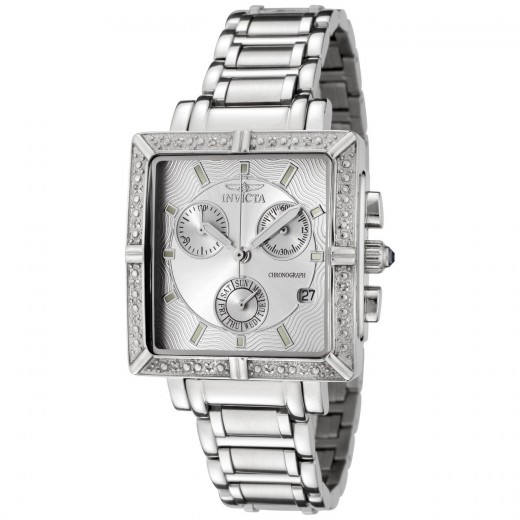 Diamond Stainless Steel Chronograph