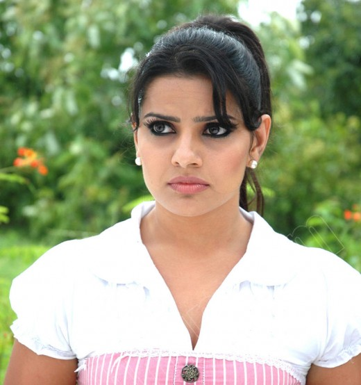 Madhu Sharma in white dress