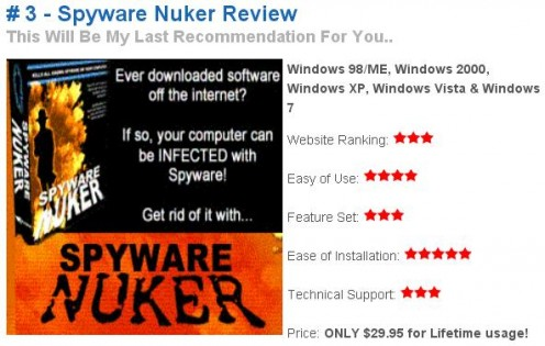 Spyware Nuker